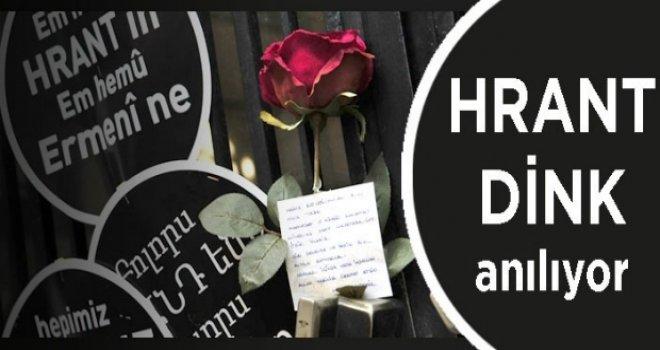 Hrant Dink vurulduğu yerde anılacak